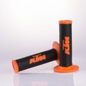 108-16-OR Motorcycle Handlebars KTM Grips Orange