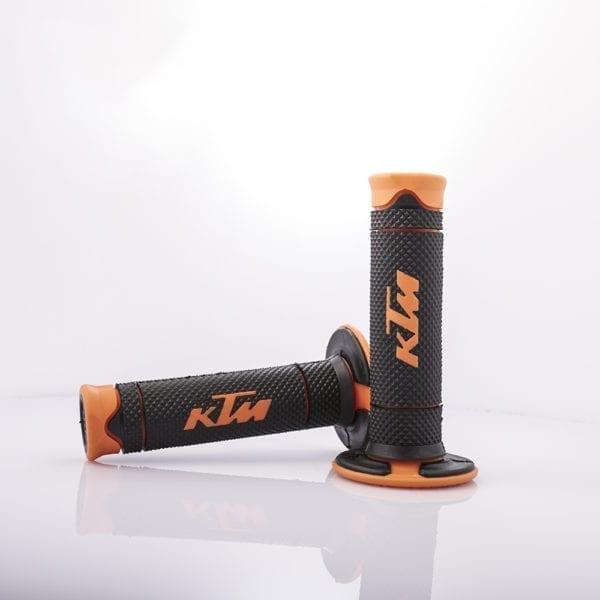 108-16-OR-T Motorcycle Handlebars KTM Grips T Orange