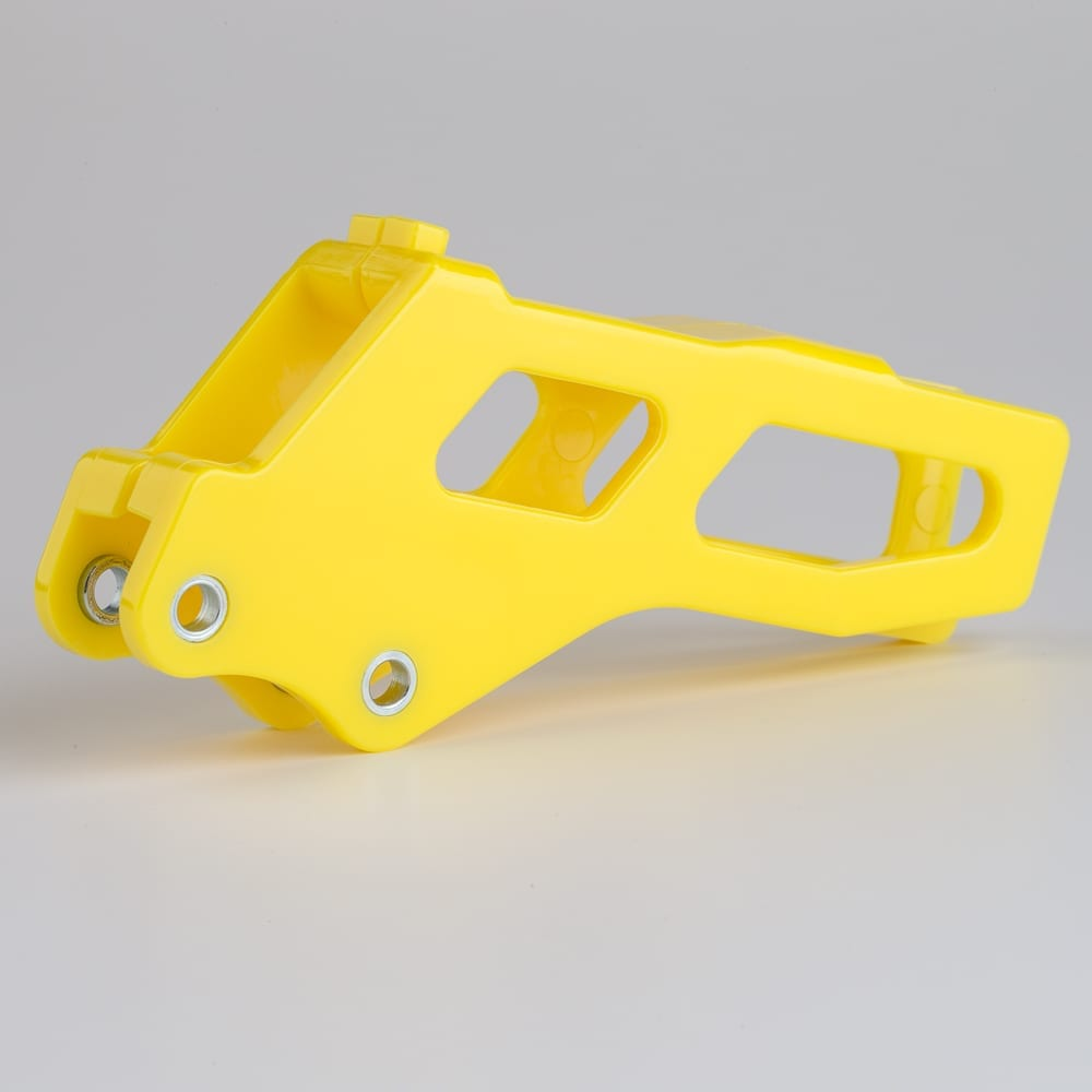 482-710207 Motorcycle Plastic Parts Chain Guides Yellow